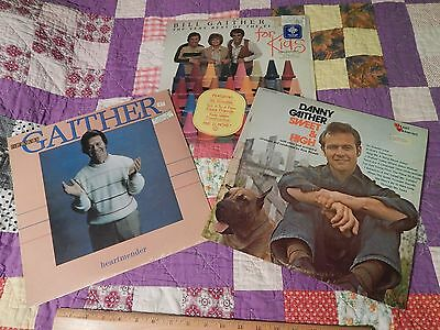 GAITHER (LOT of 3) For Kids + Danny Gaither (Heartmender+Sweet & High) - Sweets For Kids
