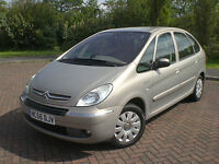 2006 56 CITROEN XSARA PICASSO 1.6 16V 110HP EXCLUSIVE 1 LADY OWNER
