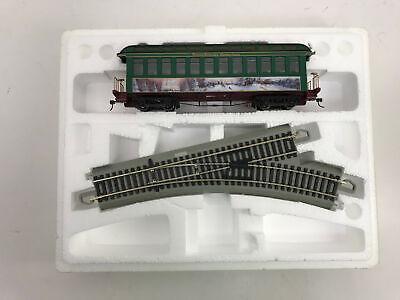 Hawthorne Village Train Set: Thomas Kinkade Christmas Observation Car