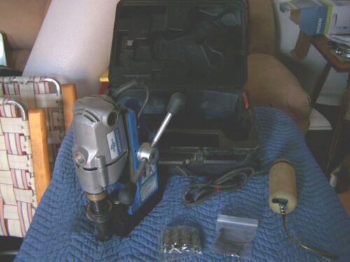 HOUGEN HMD904 Magnetic Mag Drill Press 115v in Case