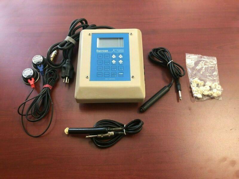 Earscan ES-TM tympanometer audiometer combo unit