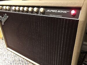 Fender Supersonic 60 tube amp