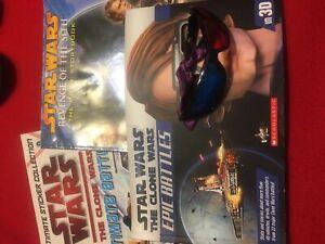 Set of 3 Star Wars books