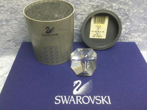 Swarovski Octron Paperweight - Crystal Cal 7456041095 015094. Retired 1991. MIB