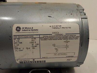 Industrial Vacuum Pump With Ge Motor 5kh33dn16hx