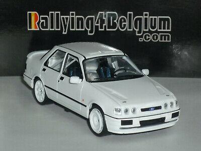 1/43 IXO Ford Sierra Cosworth 4x4 1992 Rally Spec Blanco Weiss White MDCS010