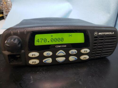 Motorola CDM1550 LS Trunking or Conventional Mobile Radio