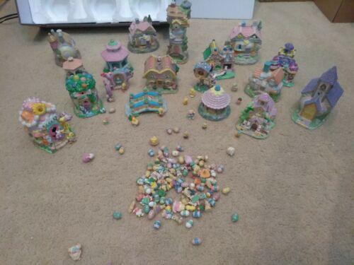 Ceramic Porcelain Resin Polystone Easter Village
