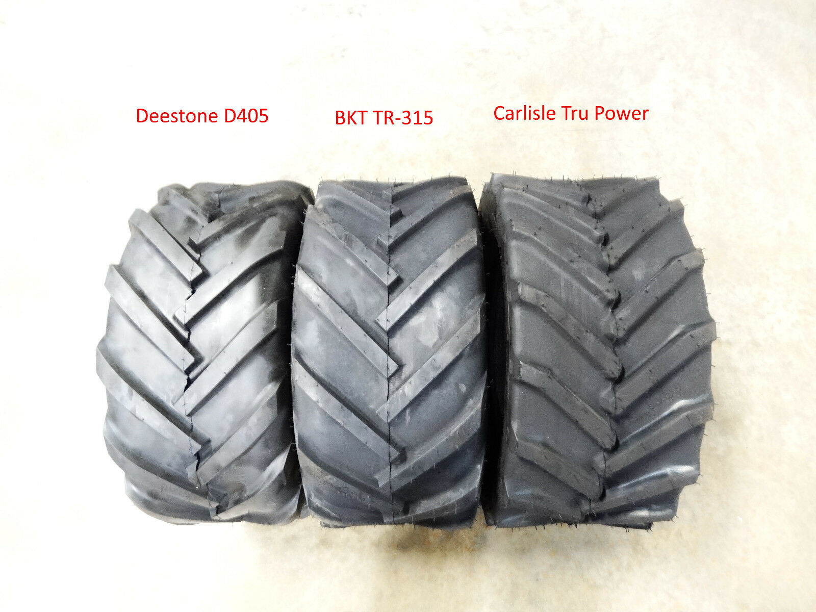 Two New Deestone Tractor Lug Tires 6 Ply Picclick
