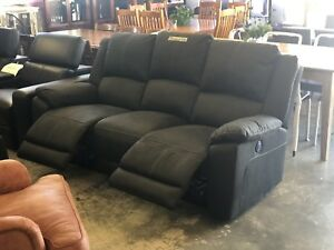 Electric Recliner Sofa with USB Ports Wangara Wanneroo Area Preview