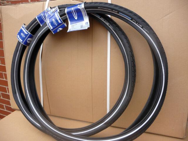Schwalbe Marathon PLUS Mountain Bike/ Cycle Tyres 26x1.75 (45-559) PAIR NEW