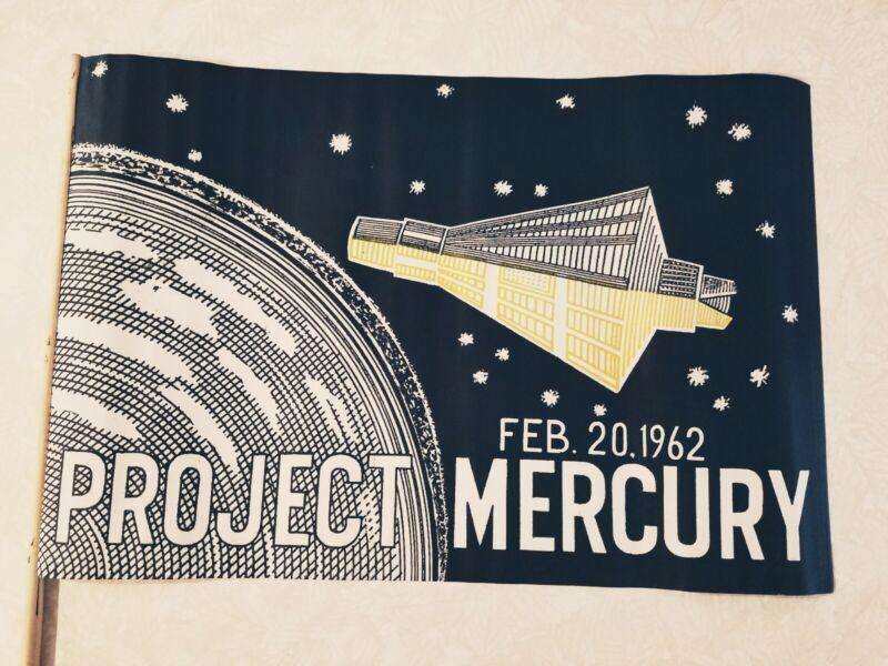 John Glenn Project Mercury Parade Flag - Feb 20, 1962