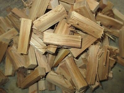 Seasoned Hickory Wood for Grilling Smoking Barbecue Competition Size