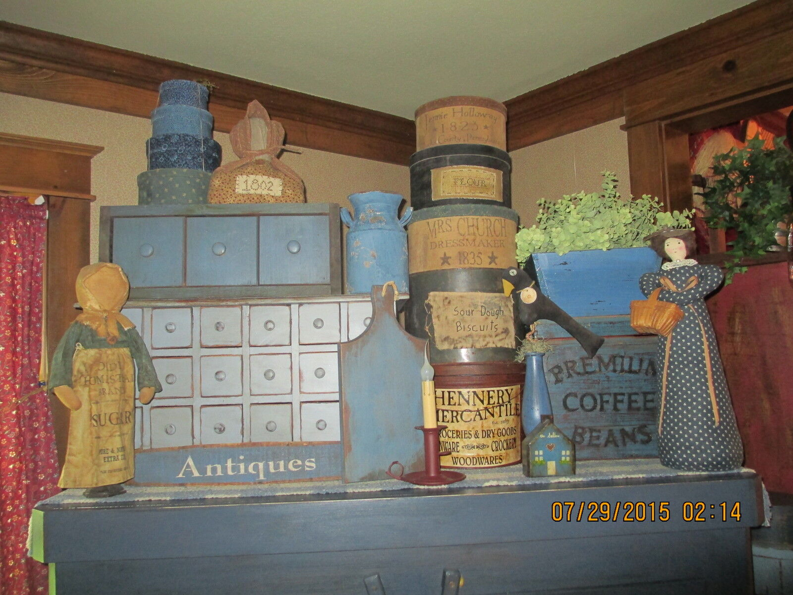 FARMHOUSE PRIMITIVES FROM THE PAST