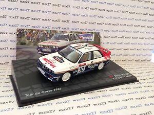 VOITURE RALLYE BMW M3 E30 RALLYE TOUR DE CORSE 1987 BEGUIN/LENNE 1/43 EME - France - État : Neuf: Objet neuf et intact, n'ayant jamais servi, non ouvert. Consulter l'annonce du vendeur pour avoir plus de détails. ... Type: Voiture: rallye Fabricant: Altaya Echelle: 1/43 Marque: IXO Emballage d'origine: Emballage d'origine EAN:  - France
