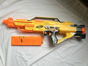 Nerf Stampede Ecs Fully Automatic Battery Operated Soft