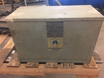 15 Kva 3 Ph 480 Volt Primary To 208y120 Volt Second Transformer Acme Electric