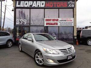 2012 Hyundai Genesis Tech Pkg,Navigation,Camera,Leather*No Accid