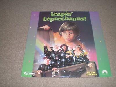 LEAPIN' Leprechauns! Laserdisc LEAPIN Leprechauns