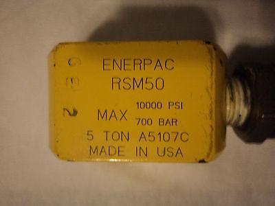 Enerpac Rsm50 Cylinder 5 Tons 14 Stroke Hydraulic Jack