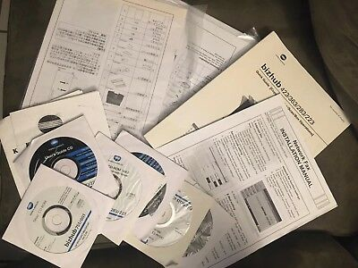 Bizhub 423 363 283 223 User Manuals Guide With Cd Drivers Installation Printer