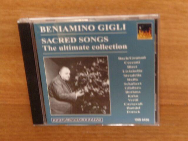 BENIAMINO GIGLI : SACRED SONGS - THE ULTIMATE COLLECTION : CD Album : IDIS 6436