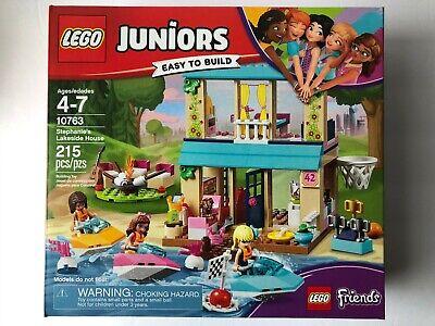 Lego Juniors Friends Stephanie's Lakeside House Set 10763 New, Sealed!