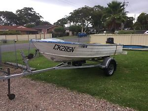 Boat, motor and trailer Budgewoi Wyong Area Preview