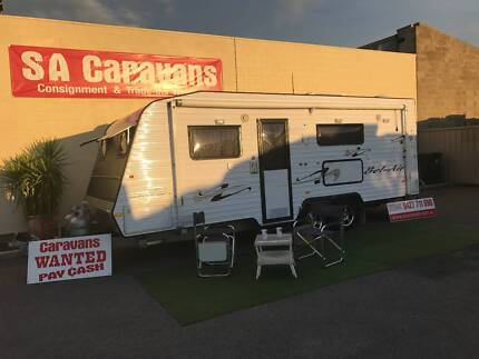 2010 Traveller Bel - Air 21' Caravan with Air Conditioning Hampstead Gardens Port Adelaide Area Preview