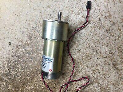 Pittman Gm9236s024-r1 12v Dc Brushless Motor 65rpm 51 Gearhead Torque