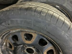 225 60R17 Michelin Defender Tires & Dodge Caliber Wheels