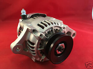 MINI ALTERNATOR Fits DENSO STREET ROD RACE 1-WIRE Small One Wire NEW 70 Amp