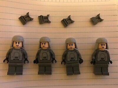 2020 Lego Star Wars Set of 4 HOTH IMPERIAL OFFICER MINIFIGURES CHRISTMAS 8084