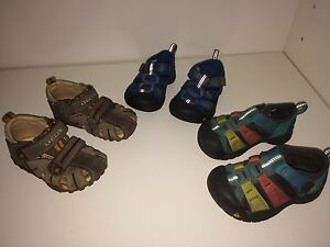 Toddler Boys Sandals - Geox and Keen, $10 each