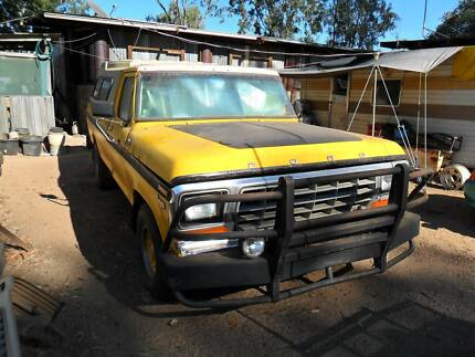 1979 Ford F100 Ute custom with a cummins turbo diesel Tablelands Preview