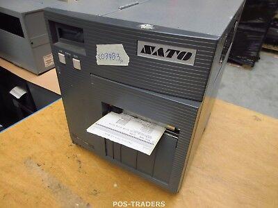 """SATO CL408E Parallel Thermo Label Drucker REWINDER 203dpi 4.1"""" 104mm - 20398.3 M"""