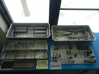 Medtronic Surgical Orthopedic Neuro Cd Horizon Instrument Set W Cases