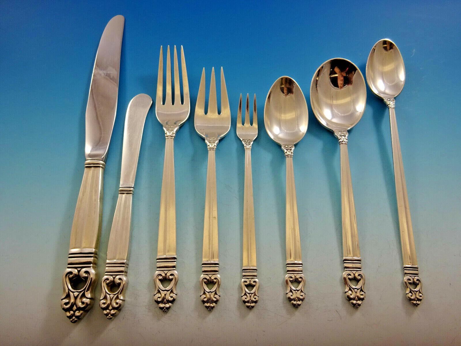 """International Wedgwood Sterling Silver Pickle Olive Fork 5-7//8/"""""""