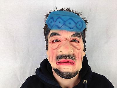 Oberst Gaddafi Maske Latex Diktator Gesicht Maske Kostüm Junggesellenabschied