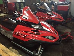 2 yamaha sx vipers  package deal!!!