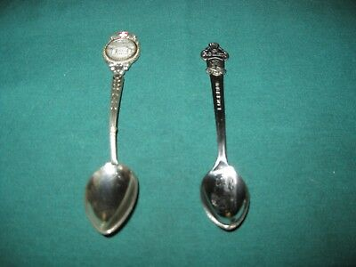 VINTAGE Collectible Spoons - SWITZERLAND - Lot of 2 - LUCERNE/ROLEX & GENEVA