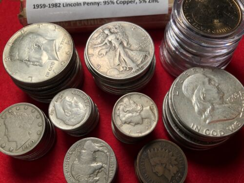 Best  *SALE* HUGE U.S. COIN COLLECTION BULLION LOT GOLD SILVER 75+ COINS! *FREE COIN!*