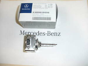 Genuine mercedes benz headlight xenon bulb n000000004248 for Mercedes benz headlight bulb