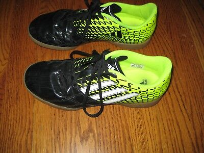 best service 31771 07f7b ... DB1880 ) Copa super leather whitegold. Adidas Mens Youth Boys Yellow  Black Indoor Soccer Shoes Cleats EXCELLENT 6