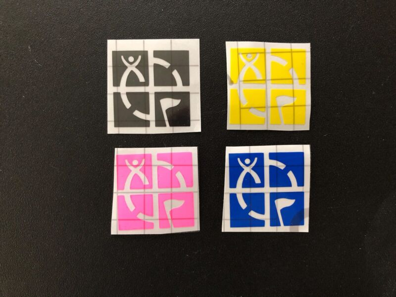 Geocaching Stickers - Set Of 4