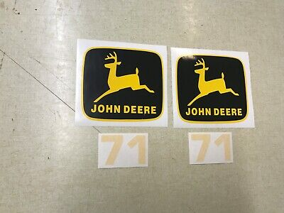 John Deere 71 Planter Decals