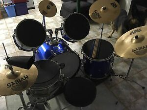 Supra 5pc drum set