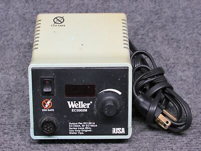 Weller Model Ec2002m Power Unit Soldering Station Working