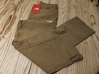 The North Face Exploration Convertible  trousers- Khaki - UK8 EU4 - BNWT