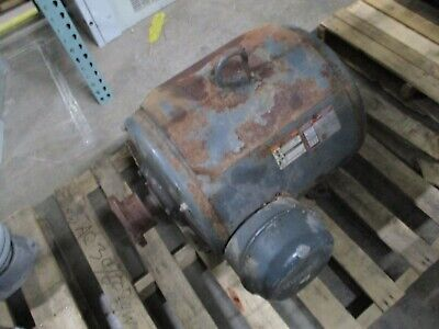 Lincoln Lincguard Dripproof Ac Motor 100hp 1800rpm Fr 404ts 460v 119a Used
